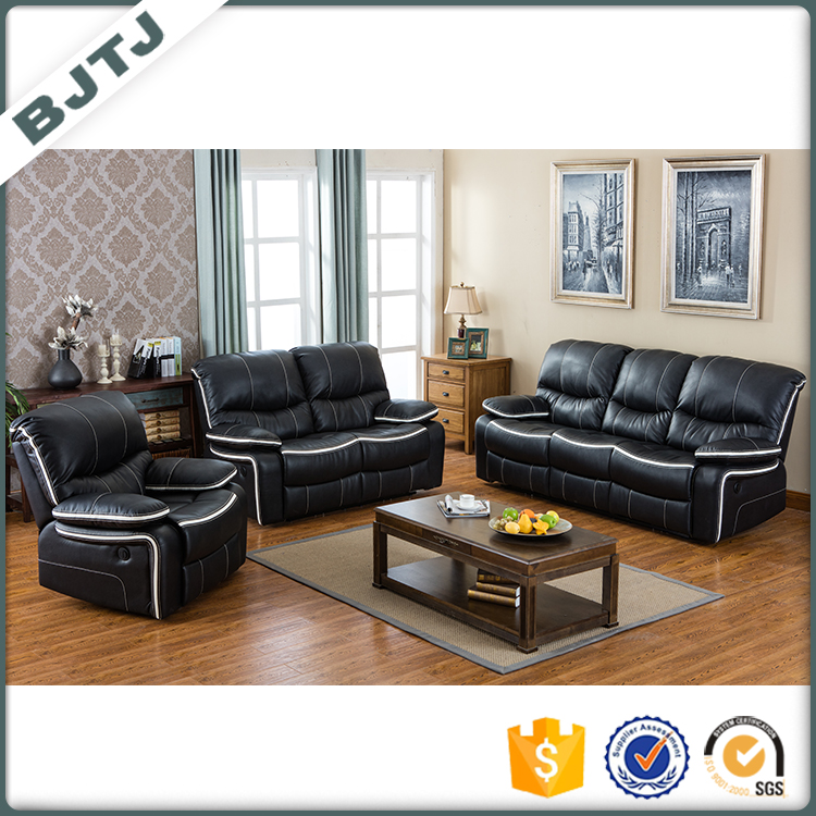 BJTJ Function sectional sofa set lounge and office PU leather design 70552B