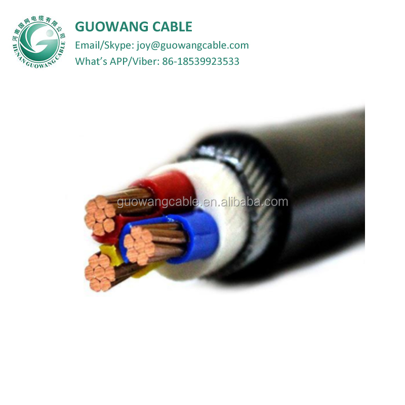 0.6/1KV Cable Power Electrical 3x25mm Nyyhy