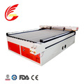 Fabric cloth 100w double heads CO2 glass tube laser cutting machine price