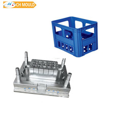 Hot sell plastic beer case crate mould