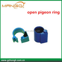 Pigeon chip rings with snap-in type