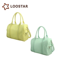 2013 Famous Latest Design Young Women Bags Faux Leather Candy Fashion Handbags Direct from China Wholesale
