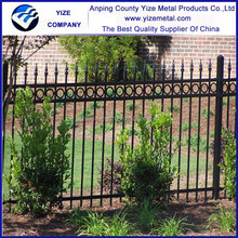 American market cheap ornamental wrought iron different types picket fences