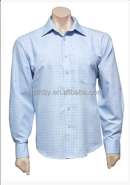 hot sale casual cotton check shirt fabrics for men
