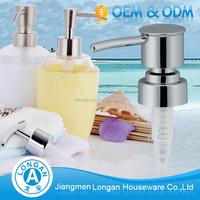 2017 High quality Free Sample Hand washing foam liquid soap dispenser plastic pump