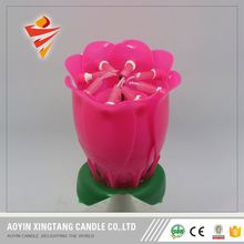 unusual lotus birthday candles