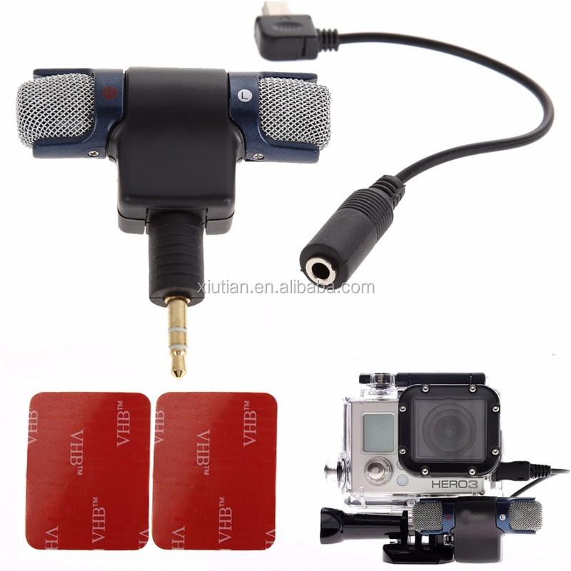 3.5 MM Micro Câble Adaptateur Avec Son Stéréo Micro pour GoPro Hero 2 3 4 3 Plus - ANKUX Tech Co., Ltd