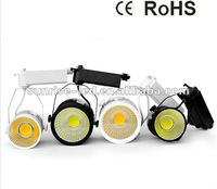 2012 Popular!! COB high power led track lighting Dimension 100x110 CRI>81% factory price