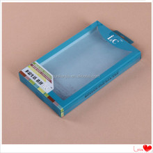 Plastic PP folding printing phone case plastic package box