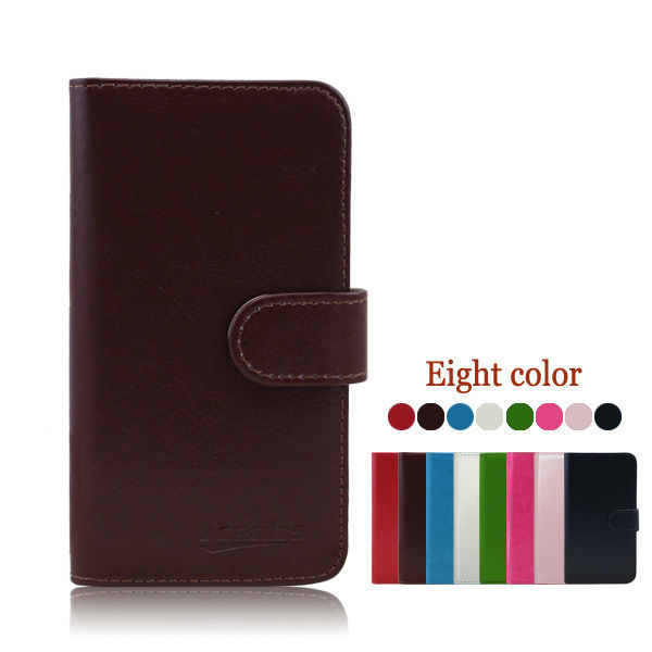 wallet flip protective case for huawei valiant y301 h881c