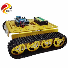 Official DOIT High Quality T200 Metal WiFi RC Robot Tank
