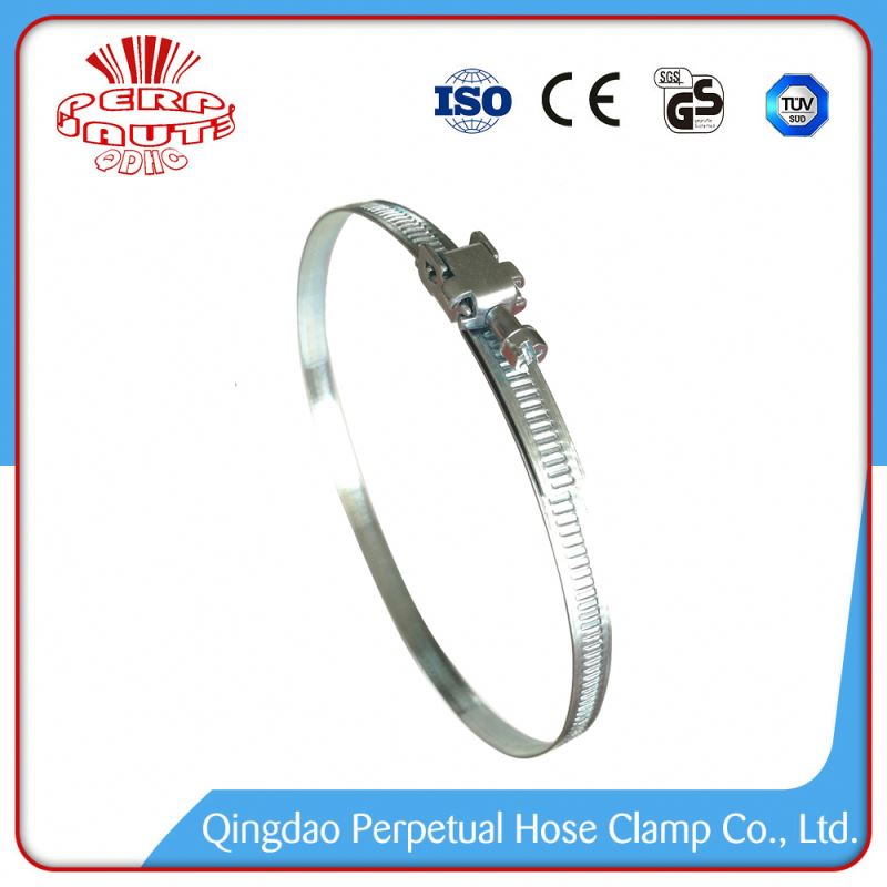 Worm Gear Quick Release Large Pipe Hose Clamp