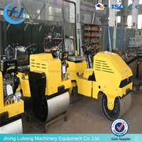 LUHENG 3 ton vibratory road roller , sakai road roller , ingersoll-rand road roller for sale