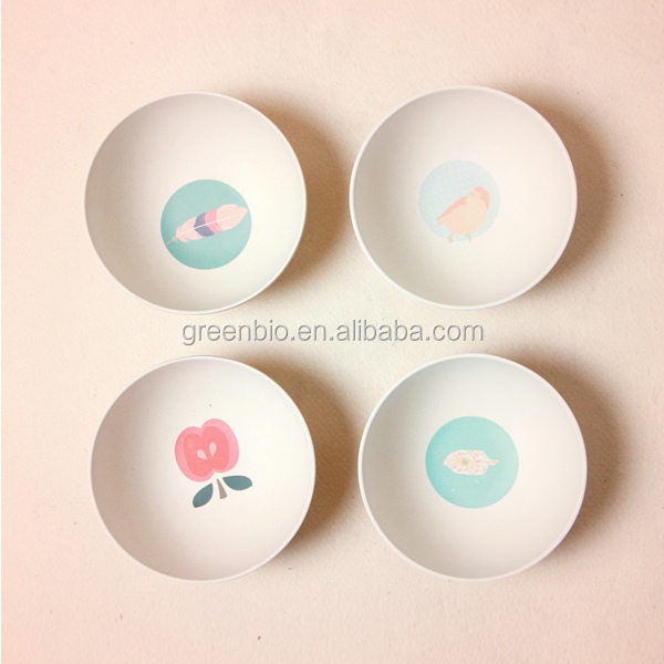 HOT-AIR BALLOON KIDS DINNERWARE,bamboo fibre kids dinner set