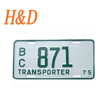Chiness Reflective Film Aluminum Sheet Number Plate Maker License Plates Made in China