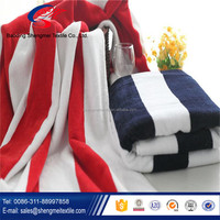 Beautiful stripe bath towels,organic bath towels, bath towel brand Baoding Shengmei