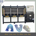 durable and stable !Jinyu latest shoe vamp making machine , sport shoes cover equipment