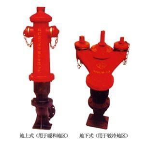 FACTORY PRICE outdoor ground fire hydrant in sale
