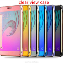 Hot Products Mirror Smart View Clear Flip back cover case for Oppo A57