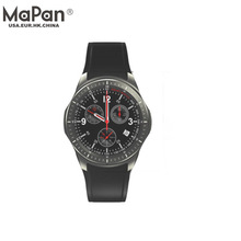 MaPan manufacturer china MW10 WCDMA 3G Smart Phone GPS hand watch mobile phone