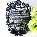 Wedding Supplies laser cut custom wedding invitation card printing