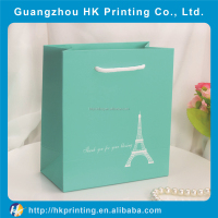 Popular manufacturing hand paper bag for cloth