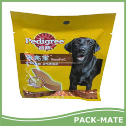 High quality Crazy Selling dog food bone packaging bag