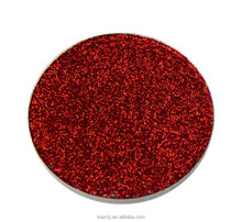 2017 professional cosmetic makeup 12 colors pressed Glitter eyeshadow