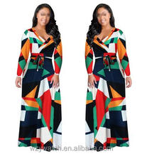 Hot sexy awesome digital printing fashion wind skirt dress exquisite fashion lady dress big size women's dresses