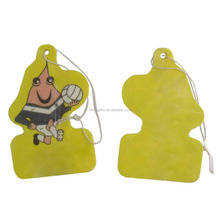 Made in China customized make car air freshener hanging paper cardboard air freshener for anyplace