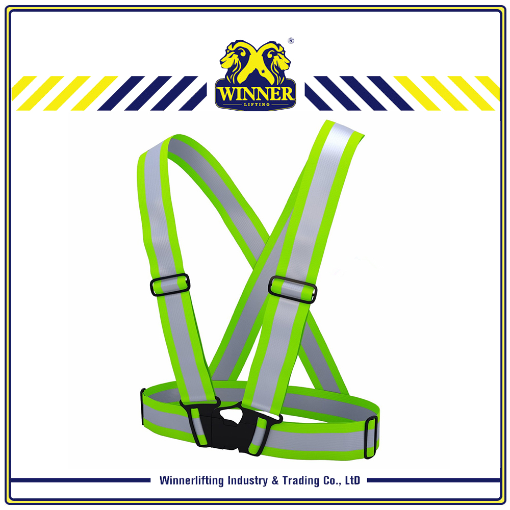 Cheap Price 100% Polyester Outdoor Reflective Belt