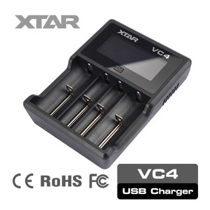 XTAR VC4 4 cell 3.7v lithium li ion battery charger circuit