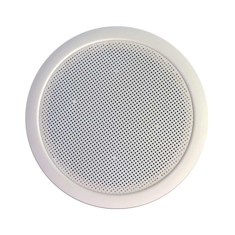 High-end live outdoor waterproof 6.5 inch mini hindi dj songs abs white public address host pa system loudspeaker for ceiling