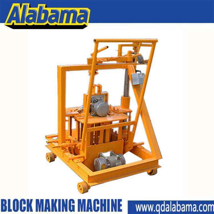 QT40-3c Alibaba China Germany technical fully auto hydraulic interlocking brick making machine price block making machine