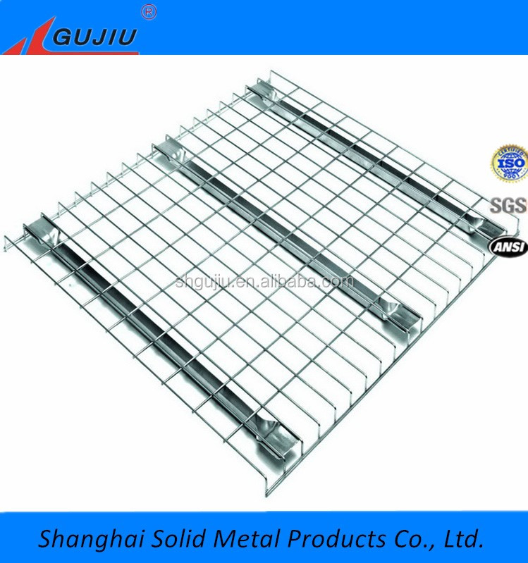 Welded Mesh Storage Galvanized Steel Wire Decking Panel