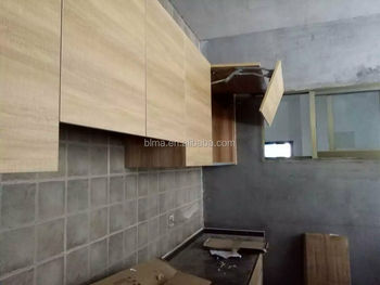 PVC laminate kitchen cabinet door