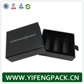 High End Recyclable Custom Logo Piano Black Storage Paper Jewelry Box
