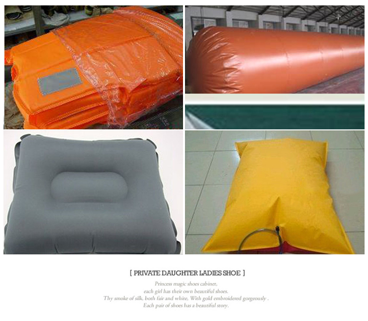 1680D TPU nylon compound fabrics, water bag oil bag military inflatable fabrics with any color inflatable bag