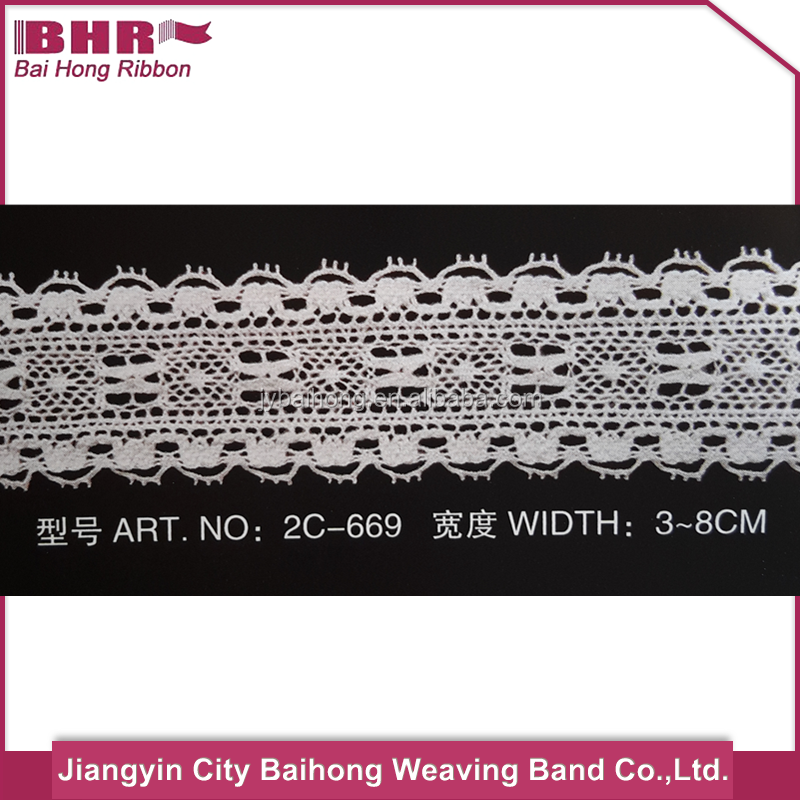 Professional 100% cotton lace collar with CE certificate