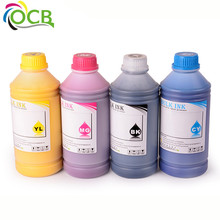1000ML 4 Colors Universal Art Paper Pigment Ink For EPSON Stylus PRO 4400 7400 9400 4450 7450 9450