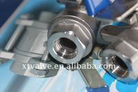 Stainless Steel 2PC Full Bore Socket Welded Ball Valve[SS304,SS316,WCB],[1000PSI],[Socket Welding]