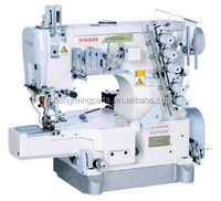 Pegasus W600P Oil Barrier Cylinder Bed Interlock Stitch Sewing Machine