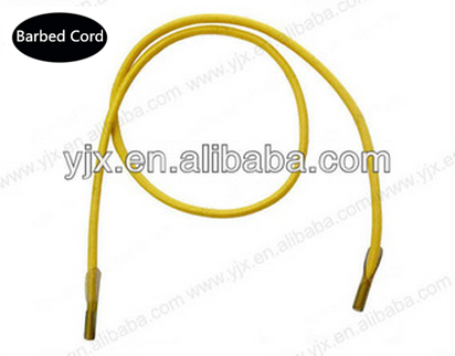 Polyester Plastic Barbed Ending Elastic Cord