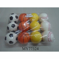 mini round PU foam ball, football basketball tennis ball baseball ,PU ball manufacturer