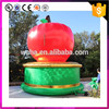 Unique Design Giant Inflatable Apple Fruit For Yard Decoration