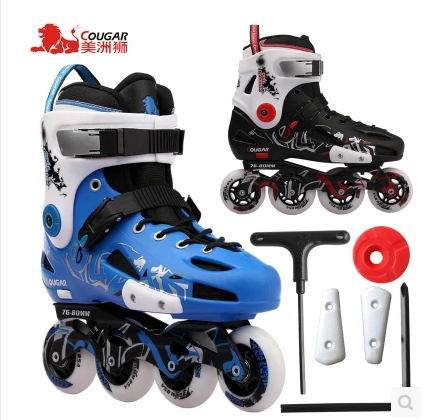 80mm wheels slalom skate for 2014 Nanjing Olympic Game