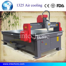 Air Cooling Spindle cnc machine 1300X2500MM cnc router for aluminum