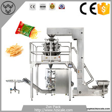 Potato Chips Banana Chips French Fries Vertical Pouch Bag Packing Machine