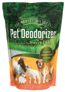 Healthy World Pet Deodorizer powered by Sweet PDZ