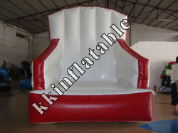 inflatable s shape sofa, inflatable advertising sofa model